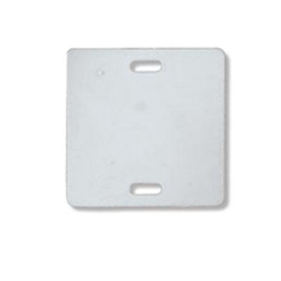 Пластиковая квадратная бирка для маркировки электрокабеля У134