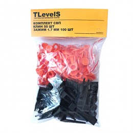 Система выравнивания плитки TLevelS 1,7 мм 100 шт